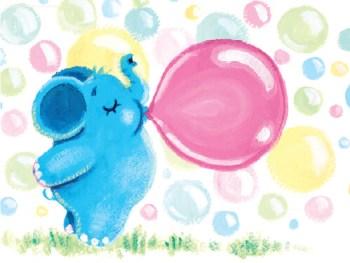 Trąbal-Bombal i guma balonowa