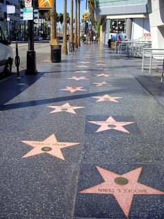 Paseo de la fama (Hollywood Boulevard)