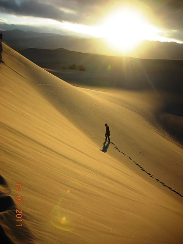 dunas en Death Valley