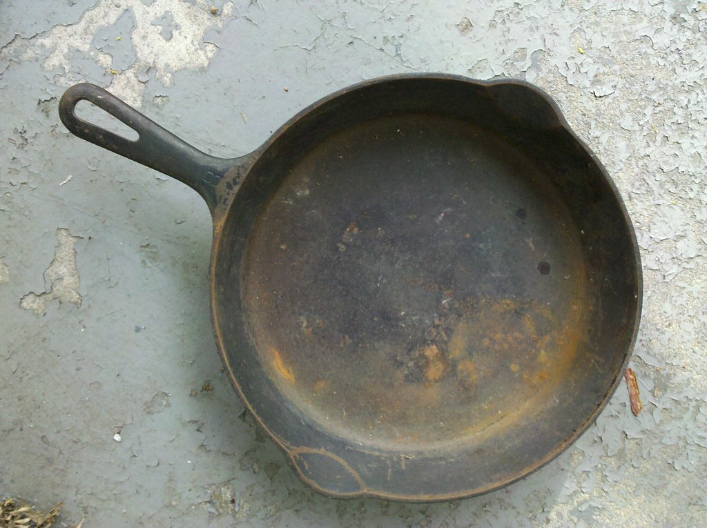 Griswold Cast Iron Skillet Resto Project