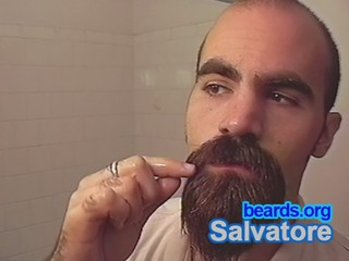 Salvatore: going goatee, part 20