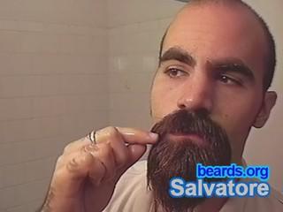 Salvatore: going goatee, part 20