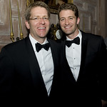 Jay Carney and Matthew Morrison