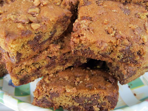 Toffee Crunch Blondies (Closer)