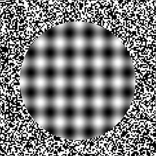 floating circle optical illusion 2