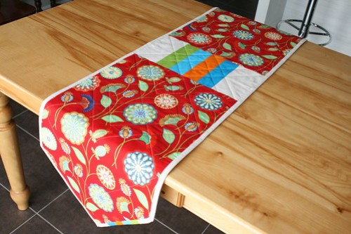 Hip Squares Table Runner