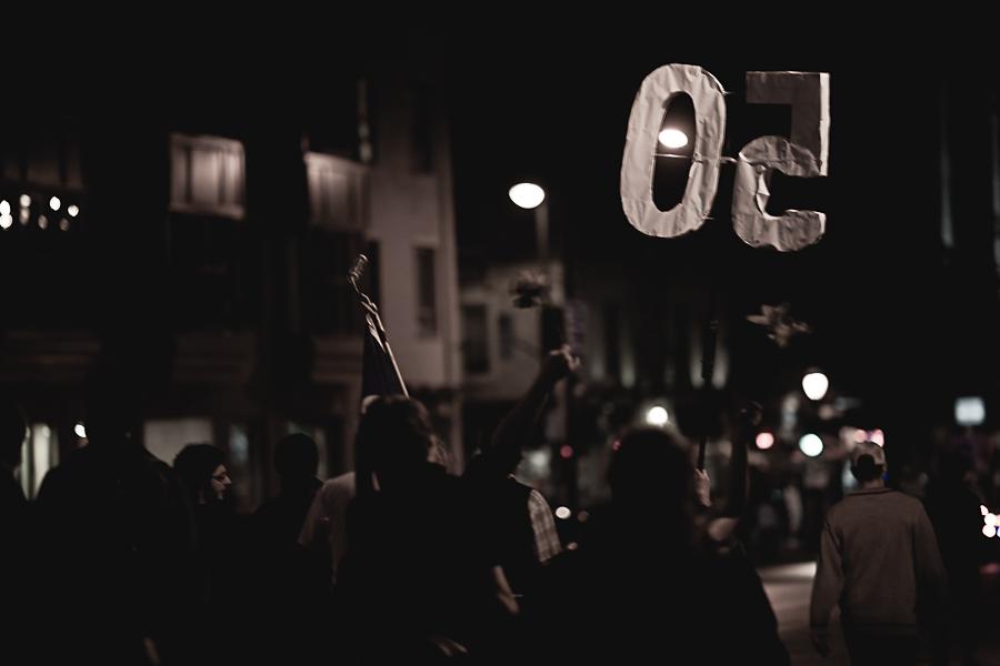 Action locale: Manif chaque soir, jusqu'à la victoire! 50e manif [photos Thien V]