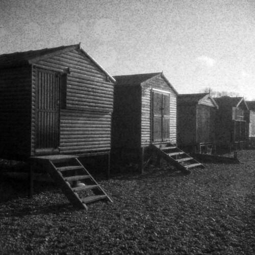 Spotty Beach Huts