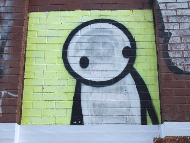 Stik Graffiti, Shoreditch, London