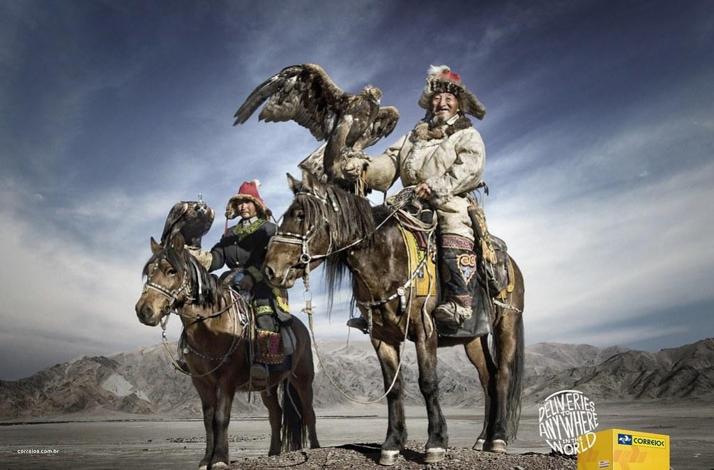 Correios - Mongolia