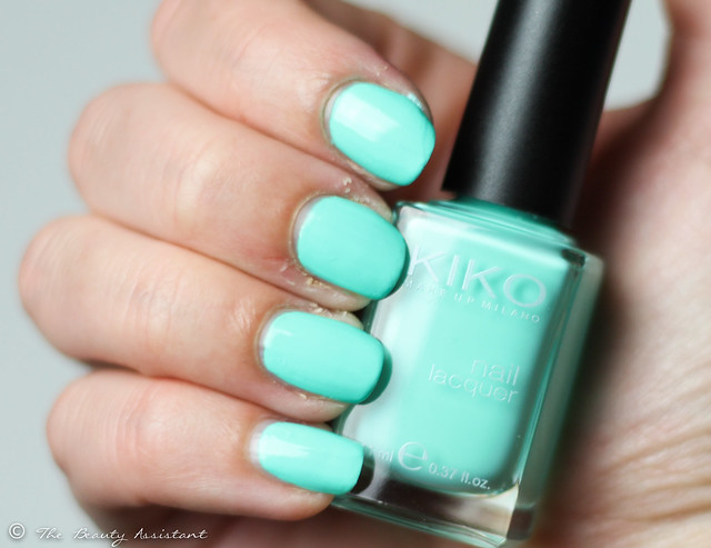 Kiko nailpolish swatch