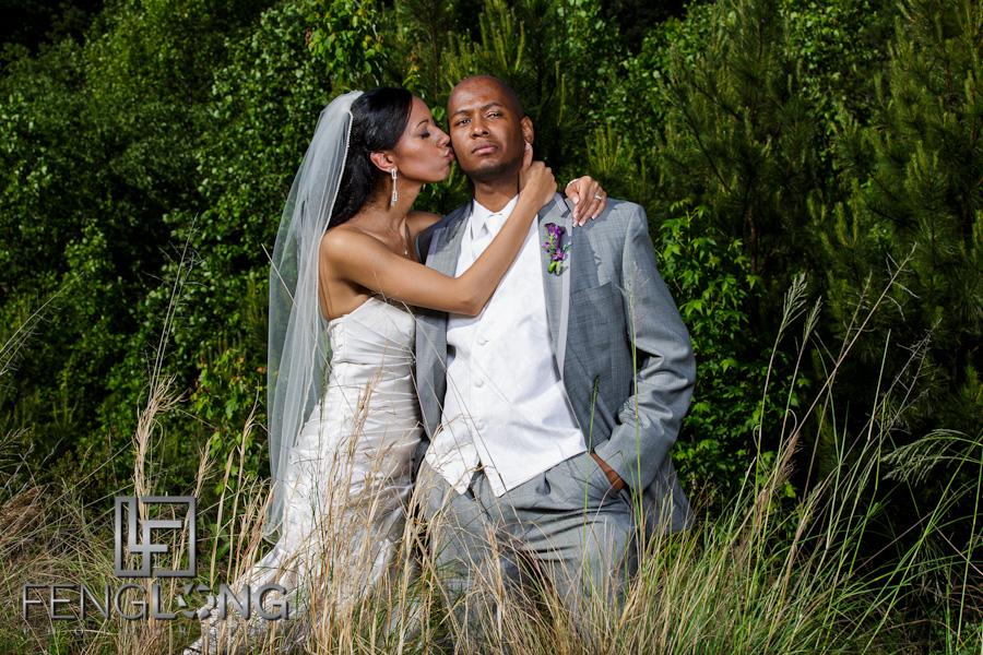 Taqueesa & Adrian's Wedding | Word of Faith Cathedral | Atlanta Austell Wedding Photographer