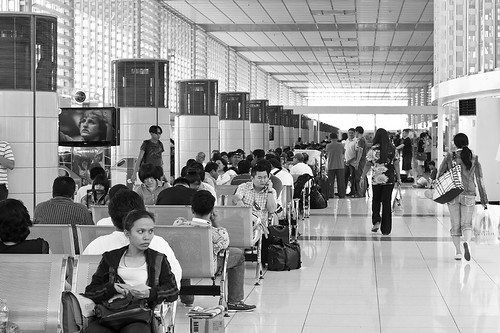 pre-departure area NAIA Terminal 2