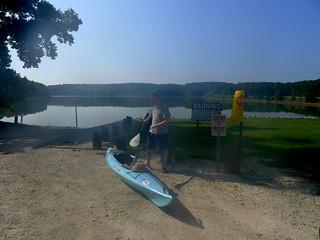 Alan with kayak