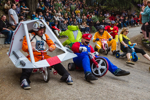 Bring Your Own Big Wheel 2012: Joe in the Snowspeeder