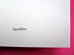 Quodlibet bis, progetto grafico: dg, 5