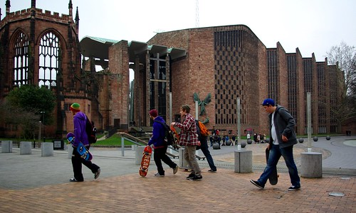 20120129-56_Moving off - Skate Boarders_Coventry Cathedral Area by gary.hadden