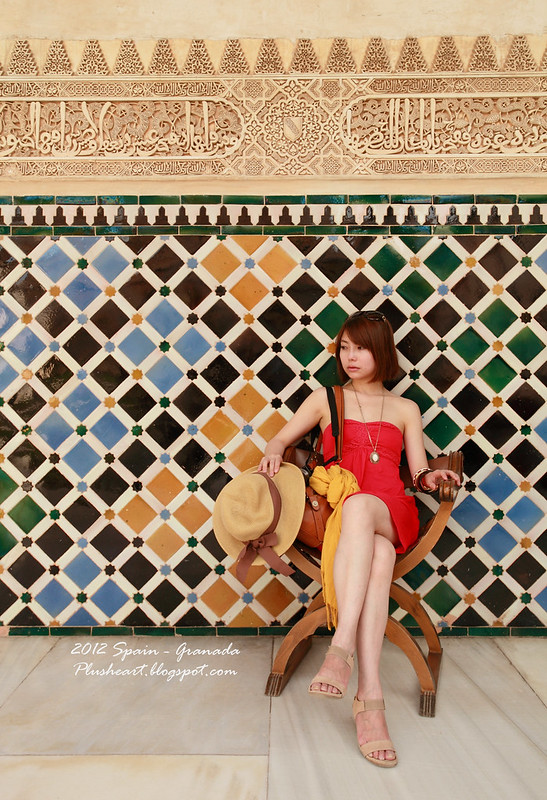 ▌Spain ▌ Granada ‧ 萬種風情的阿爾汗布拉宮 熱到不行