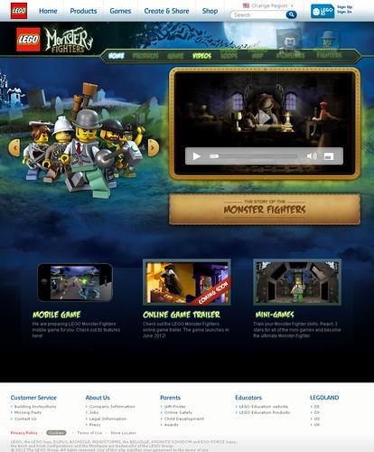 Monster Fighters - ruszała oficjalna strona!