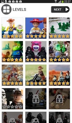 ตัวอย่างเกมที่ดาวน์โหลดจาก Galaxy Kids