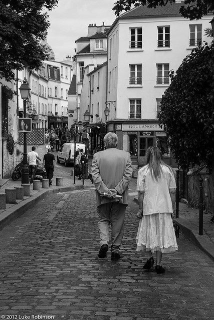 Montmartre Couple