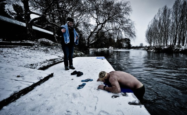 Ice Swimmer, England