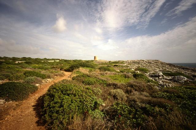 Camí de Cavalls. Menorca. October 2010