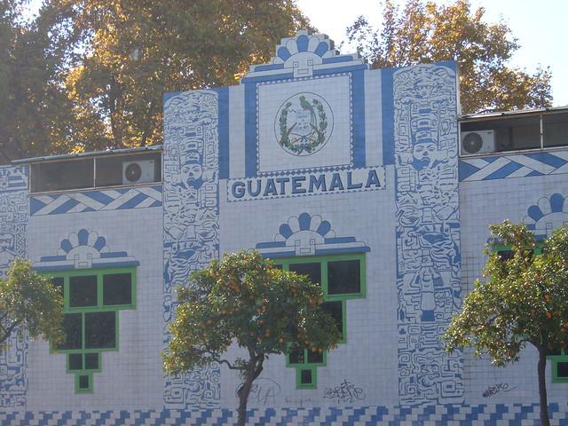Pabellon de Guatemala, Expo 1929 Sevilla