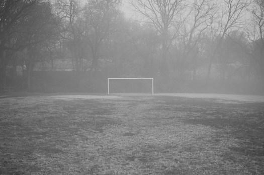 Lone goal.
