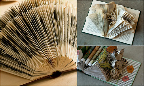 Altered book workshop - Student work