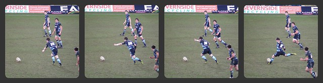 Blues v Leinster-Sweeney Kick
