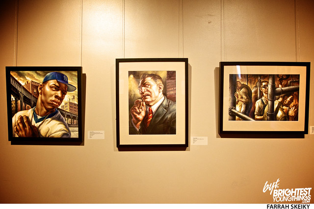 The Art of Comic Books Mansion at Strathmore Brightest Young Things Farrah Skeiky 49