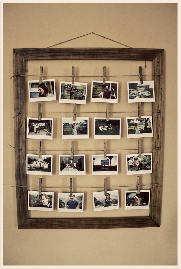 After: Handmade Photo Frame