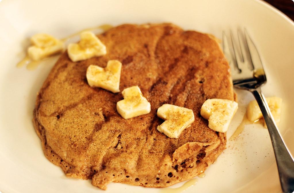 Vegan Birthday Pancakes