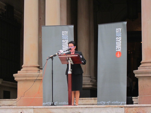 The Right Honourable Lord Mayor of Sydney, Clover Moore, MP