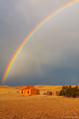 Rainbow over Burra Homestead