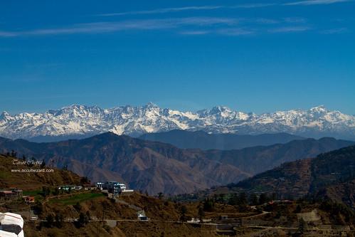 Himalyan Range from Dhanaulti, Uttaranchal