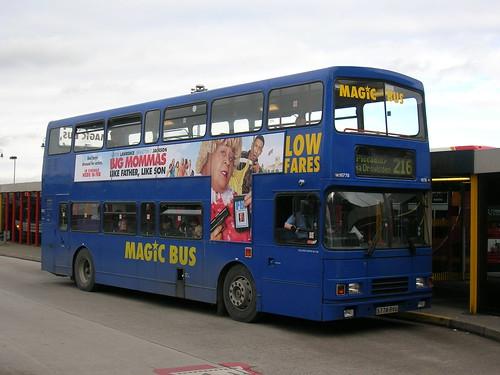 Volvo Olympian, S778 RVU, Alexander RL body, Stagecoach in Manchester, Ashton-under-Lyne