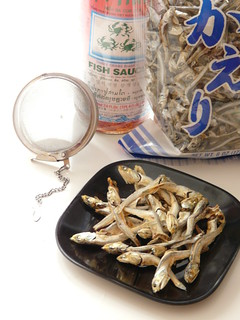 Korean Fish Flavoring - Fish Sauce & Dried Anchovies