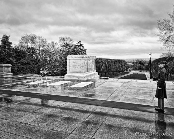 Tomb of the unknowns, Arlington National Cemetery