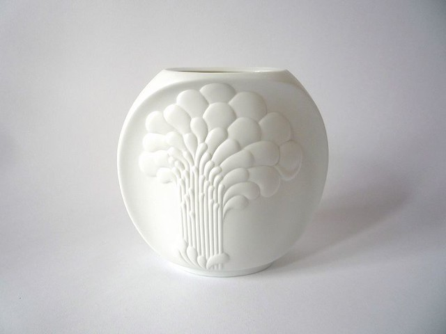 Kaiser West Germany White Vases