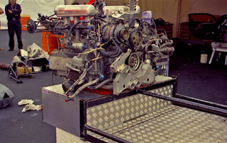 Porsche GT1 motor