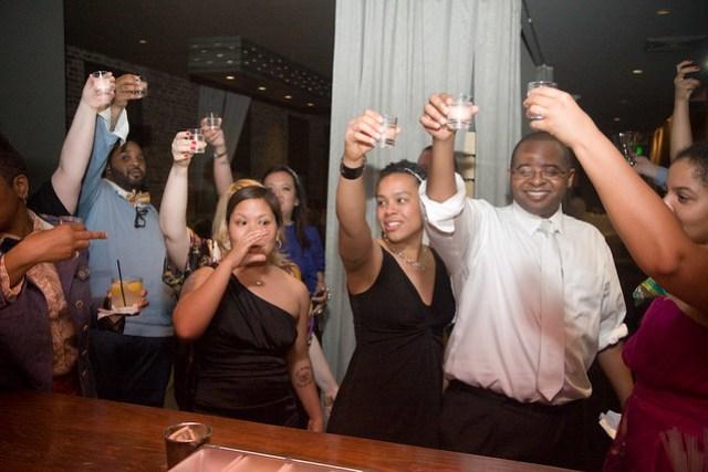 You Know How We Do. Toasting to Tito at #nerdwedding11.