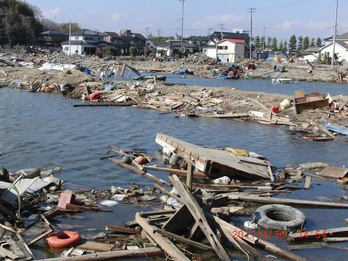 Miyagi Prefecture, Sendai, Japan, earthquake and tsunami ruins