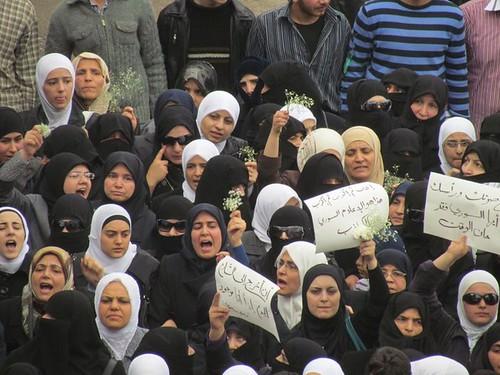 Syria Damascus Douma Protests 2011 - 05 by syriana2011