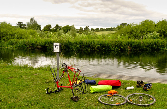 Bikerafting experiment: Reassembling the bike