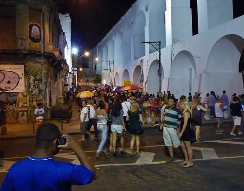 Arcos da Lapa, Rio de Janeiro, Nellu Mazilu