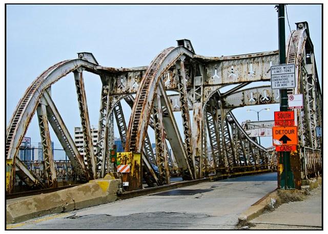 Division Street Bridge in need of repair