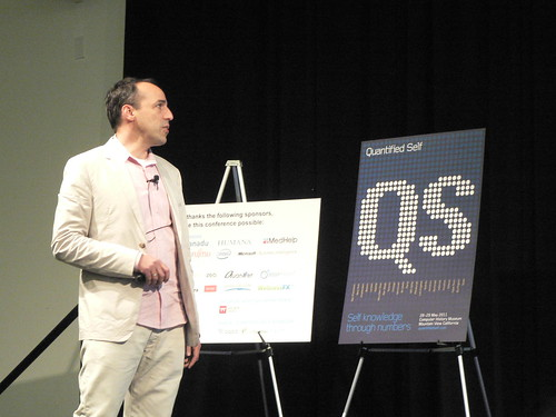 Gary Wolf at Quantified Self 2011