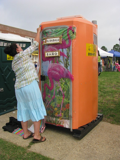 Decorating Porta Potties Flickr Photo Sharing